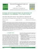 Economic and environmental impact of construction and demolition in green buildings: A case study of Jordan
