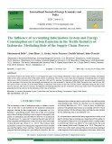 The influence of accounting information system and energy consumption on carbon emission in the textile industry of Indonesia: Mediating role of the supply chain process