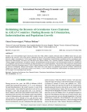 Rethinking the reasons of greenhouse gases emission in ASEAN Countries: Finding reasons in Urbanization, industrialization and population growth