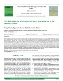 The role of green marketing in energy conservation in the domestic sector