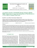 An analysis towards a sustainable energy system in albania highly supported by large scale integration of wind resources: A case study of Mamaj wind farm
