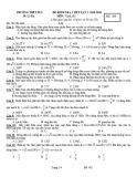 Bộ đề kiểm tra 1 tiết môn Vật lý lớp 12 năm 2019-2020