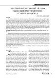Bảo tồn và phát huy tri thức dân gian nghề làm chõ xôi truyền thống của người Thái (Sơn La)