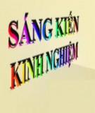 Sáng kiến kinh nghiệm Tiểu học: Một số giải pháp giúp học sinh người Mông học tốt môn Toán lớp 4