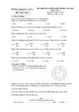 Đề kiểm tra 1 tiết học kì 2 môn Toán (HH) lớp 9 - TH&THCS An Hòa