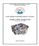 Giáo trình Sửa chữa bảo dưỡng điện động cơ xăng - Nghề: Công nghệ ô tô (Dùng cho trình độ cao đẳng): Phần 1
