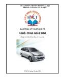 Giáo trình Kỹ thuật lái ô tô - Nghề: Công nghệ ô tô (Dùng cho trình độ Cao đẳng và Trung cấp)