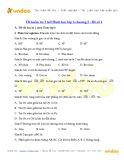Đề kiểm tra 1 tiết chương 2 Hình học lớp 6 (Đề số 1)