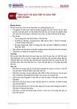 Bài giảng Giao tiếp trong kinh doanh - Bài 1: Tổng quát về giao tiếp và giao tiếp kinh doanh