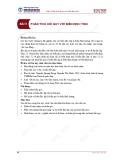 Bài giảng Kinh tế lượng 1 - Bài 5: Phân tích hồi quy với biến định tính