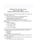 400 Câu hỏi trắc nghiệm nghiệp vụ chuyên ngành Tài chính - Kế toán có đáp án