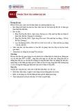 Bài giảng Lập và quản lý dự án đầu tư - Bài 3: Phân tích tài chính dự án