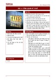 Bài giảng Tổng quan về thuế - Bài 1: Tổng quan về thuế