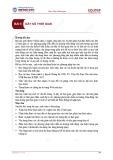 Bài giảng Thống kê kinh doanh - Bài 5: Dãy số thời gian