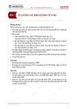 Bài giảng Kinh tế vĩ mô - Bài 1: Đo lường các biến số kinh tế vĩ mô
