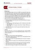 Bài giảng Quản trị Ngân hàng thương mại - Bài 3: Tài sản và quản lý tài sản