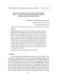 Chế tạo và nghiên cứu tính chất của gốm áp điện BaTiO3 + x %kl LiBiO2 thay thế cho các biến tử áp điện trong hệ thống sona nhúng VGS-3