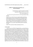 Nghiên cứu điều chế nano hợp kim AU-AG trên nền dextran
