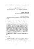Thành phần loài và tình hình khai thác động vật thân mềm hai mảnh vỏ (Bivalvia) ở đầm phá Tam Giang – Cầu Hai, tỉnh Thừa Thiên Huế