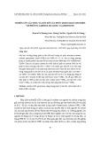 Nghiên cứu cấu trúc và liên kết của phức mono-gold-chloride với phối tử carbene, silylene, và germylene