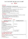 Giáo án môn Tiếng Việt lớp 1 sách Cánh Diều - Bài 7: Đ, e