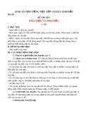 Giáo án môn Tiếng Việt lớp 1 sách Cánh Diều - Bài 98: Kể chuyện: Ong mật và ong bầu