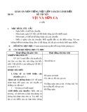 Giáo án môn Tiếng Việt lớp 1 sách Cánh Diều - Bài 50: Kể chuyện: Vịt và sơn ca