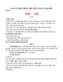 Giáo án môn Tiếng Việt lớp 1 sách Cánh Diều - Bài 94: anh, ach
