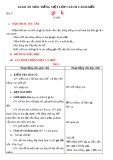 Giáo án môn Tiếng Việt lớp 1 sách Cánh Diều - Bài 17: Gi, k