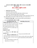 Giáo án môn Tiếng Việt lớp 1 sách Cánh Diều - Bài 44: Kể chuyện: Ba chú lợn con