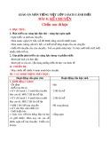 Giáo án môn Tiếng Việt lớp 1 sách Cánh Diều - Bài 8: Kể chuyện: Chồn con đi học
