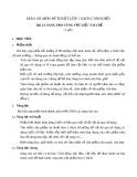 Giáo án môn Mĩ thuật lớp 1 sách Cánh Diều - Bài 13: Sáng tạo cùng vật liệu tái chế
