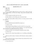 Giáo án môn Mĩ thuật lớp 1 sách Cánh Diều - Bài 11: Tạo hình với lá cây