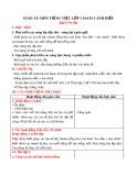 Giáo án môn Tiếng Việt lớp 1 sách Cánh Diều - Bài 9: Ôn tập