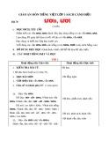 Giáo án môn Tiếng Việt lớp 1 sách Cánh Diều - Bài 76: ươn, ươt