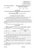 Mẫu Quyết định việc xoá nợ tiền thuế (Mẫu số 03/XOANO)