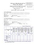 Mẫu Tờ khai quyết toán thuế tài nguyên (Mẫu số: 03A/TĐ-TAIN)