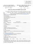 Mẫu Thông báo nộp lệ phí trước bạ nhà, đất (Mẫu số: 01-1/LPTB)