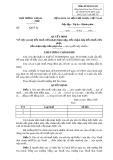Mẫu Quyết định việc xoá nợ tiền thuế (Mẫu số 06/XOANO)