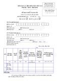 Tờ khai thuế tài nguyên (Mẫu số: 03/TĐ-TAIN)