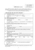 Mẫu Thông báo áp dụng miễn, giảm thuế (Mẫu số: 01/TBH-TB)
