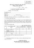 Mẫu Văn bản đề nghị miễn thuế (Mẫu số: 01/MGTH)