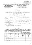 Mẫu Quyết định về việc gia hạn nộp tiền thuế (Mẫu số: 02/GHAN)