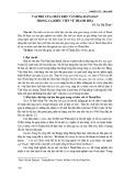 Vai trò của chất liệu văn hóa dân gian trong ca khúc viết về Thanh Hóa