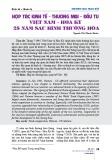 Hợp tác kinh tế - thương mại - đầu tư Việt Nam - Hoa Kỳ 25 năm sau bình thường hóa