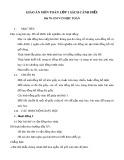 Giáo án môn Toán lớp 1 sách Cánh Diều - Bài 70: Em vui học Toán