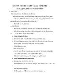 Giáo án môn Toán lớp 1 sách Cánh Diều - Bài 59: Cộng, trừ các số tròn chục