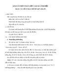Giáo án môn Toán lớp 1 sách Cánh Diều - Bài 45: Các số có hai chữ số (từ 71 đến 99)