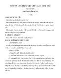 """Giáo án môn Tiếng Việt lớp 1 sách Cánh Diều - Kể chuyện: Đi tìm vần """"êm"""""""