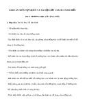 Giáo án môn Tự nhiên và xã hội lớp 1 sách Cánh Diều - Bài 5: Trường học của em